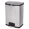 Rubbermaid Commercial Rubbermaid® Commercial Slim Jim® Stainless Steel Step-On Container RCP 1901999