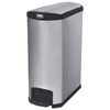 Rubbermaid Commercial Rubbermaid® Commercial Slim Jim® Stainless Steel Step-On Container RCP 1902000