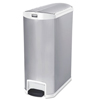 Rubbermaid Commercial Rubbermaid® Commercial Slim Jim® Stainless Steel Step-On Container RCP 1902005