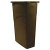 trash receptacle: Rubbermaid® Commercial Slim Jim® Large Rectangular Waste Receptacle