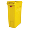 trash receptacle: Rubbermaid® Commercial Slim Jim® with Venting Channels