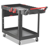 Janitorial Carts, Trucks, and Utility Carts: Rubbermaid® Commercial Heavy Duty Adaptable Utility Cart