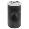 waste receptacle and can liners: Smoking Urn with Metal Ashtray Top