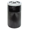 waste receptacle and can liners: Smoking Urn with Ashtray and Metal Liner
