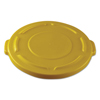 Rubbermaid Commercial Round Brute® Lid RCP 2619-60YEL