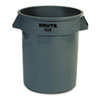 trash receptacle: Rubbermaid® Commercial Round Brute® Container
