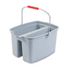 rubbermaid 30 gallon bucket: Rubbermaid® Commercial Double Utility Pail