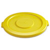 Rubbermaid Commercial Round Brute® Lid RCP2631YEL