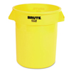 Rubbermaid Commercial Round Brute® Container RCP 2632 YEL