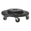 Rubbermaid Commercial Brute® Round Twist On/Off Dolly RCP 2640 BLA