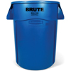 Rubbermaid Commercial Vented Round Brute® Container RCP2643-60BLU