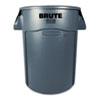 Rubbermaid Commercial Rubbermaid® Commercial Vented Round Brute® Container RCP264360GY