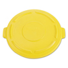 Rubbermaid Commercial Vented Round Brute® Lid RCP 2645-60 YEL