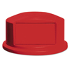 Rubbermaid Commercial Round Brute® Dome Top RCP 2647-88 RED