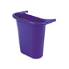 Recycling Containers: Rubbermaid® Commercial Wastebasket Recycling Side Bin