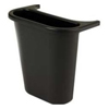 waste receptacles: Wastebasket Recycling Side Bin in Black