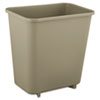 waste basket: Soft Molded Plastic Wastebasket