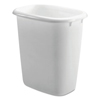 Rubbermaid Rubbermaid® Open-Top Wastebasket RCP 2958WHICT