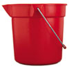 Rubbermaid Commercial Brute® Round Utility Pail RCP2963RED