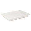 Rubbermaid Commercial Food/Tote Boxes RCP 3506WHI