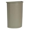 Rubbermaid Commercial Untouchable® Half-Round Plastic Receptacle RCP3520BEI
