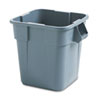 Rubbermaid Commercial Rubbermaid Commercial® Square Brute® Container RCP 352600GY
