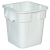 Rubbermaid Commercial Square Brute® Container RCP 3526 WHI