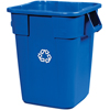 Rubbermaid Commercial Square Brute® Recycling Container RCP 3536-73 BLU