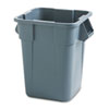 Rubbermaid Commercial Rubbermaid® Commercial Square Brute® Container RCP 353600GY