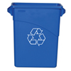 Recycling Containers: Slim Jim® Recycling Container with Handles