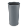 Rubbermaid Commercial Untouchable® Large Plastic Round Waste Receptacle RCP 3546 GRA