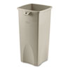 trash receptacle: Rubbermaid® Commercial Untouchable® Square Container