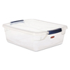 storage: Rubbermaid® Clever Store Snap-Lid Container