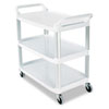 Ring Panel Link Filters Economy: Rubbermaid® Commercial Open Sided Utility Cart