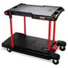 Janitorial Carts, Trucks, and Utility Carts: Rubbermaid® Commercial Convertible Utility Cart