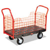 utility carts, trucks and ladders: Side-Panel Platform Truck