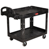 Rubbermaid Commercial Heavy-Duty Utility Cart RCP4520-88BLA