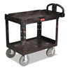 Rubbermaid Commercial Heavy-Duty Utility Cart RCP4520-10BLA