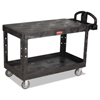 Rubbermaid Commercial Heavy-Duty Utility Cart RCP4545BLA