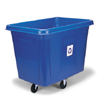 Rubbermaid Commercial Recycling Cube Truck RCP4616-73BLU