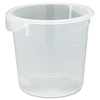 Rubbermaid Commercial Round Storage Containers RCP 5721-24 CLE