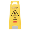 Rubbermaid Commercial Rubbermaid Commercial® Caution Wet Floor Floor Sign RCP 611277YW