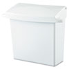 Rubbermaid Commercial Rubbermaid® Commercial Sanitary Napkin Receptacle with Rigid Liner RCP 614000