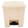 Rubbermaid Commercial Rubbermaid® Commercial Indoor Utility Step-On Waste Container RCP 6143BEI