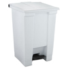 Rubbermaid Commercial Rubbermaid® Commercial Indoor Utility Step-On Waste Container RCP 6144WHI
