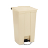 Rubbermaid Commercial Fire-Safe Step-On Receptacle RCP 6146 BEI