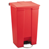 Rubbermaid Commercial Rubbermaid® Commercial Indoor Utility Step-On Waste Container RCP 6146RED