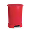 trash receptacle: Rubbermaid® Commercial Step-On Container