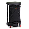 Janitorial Carts, Trucks, and Utility Carts: Premium Step-On Linen Hamper Bag