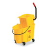 rubbermaid 30 gallon bucket: Rubbermaid Commercial® WaveBrake® Bucket/Wringer Combinations